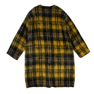 Mohair Cardigan Sweater - Yellow