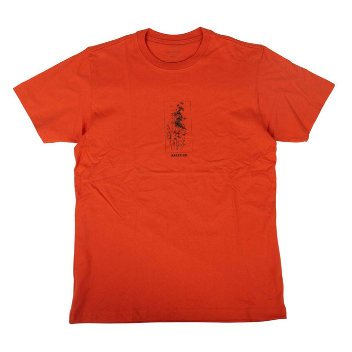 Organic Cotton Bamboo T-Shirt - Blaize Orange