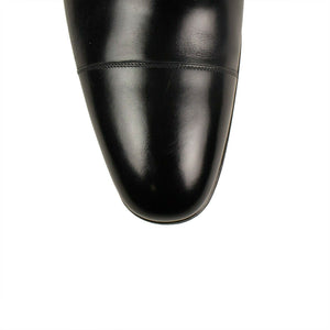Leather 'Gianni' Oxford Dress Shoes - Black