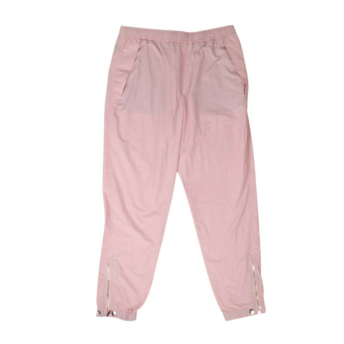 Polyester Staple Jogger Pants - Dusty Pink