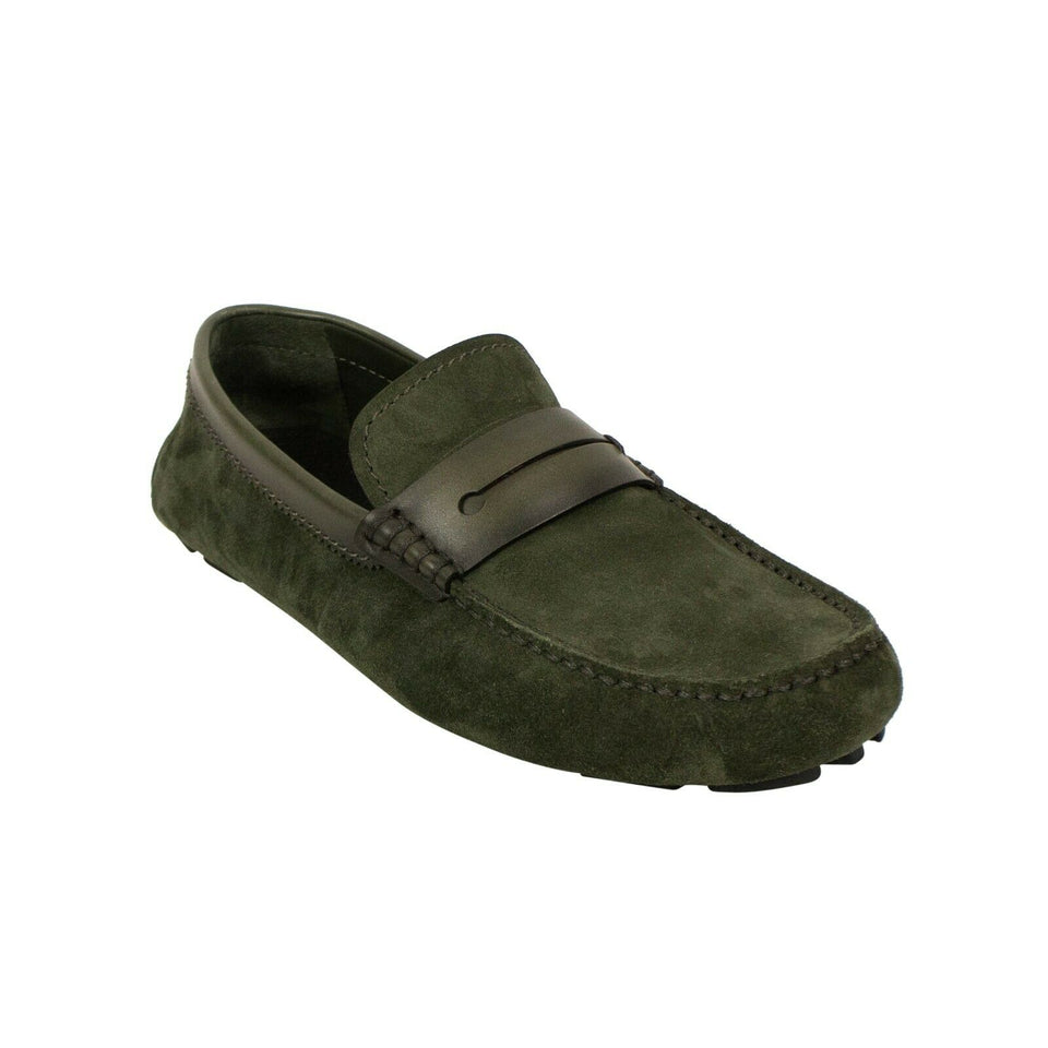 'Morris New Driver' Shoes - Green