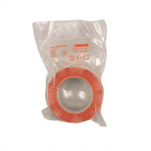 Black Logo Print Packing Tape - Orange