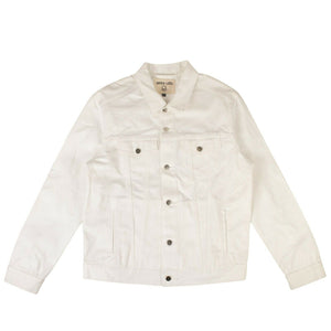 'Custom Design' Denim Jacket - White