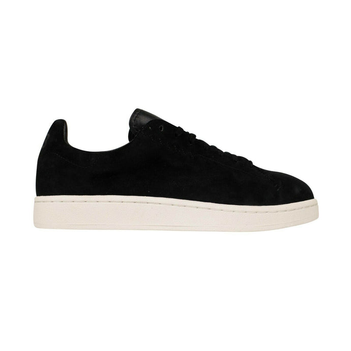 Suede 'Yohji Court' Sneakers - Black