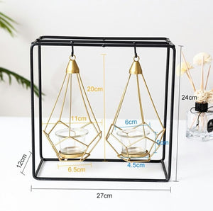 Geometric Candle Holders