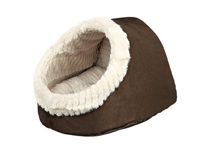 "Trixie Cuddly Cave ""Timur"" - Brown ^Sml"