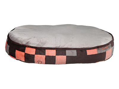 "Trixie Cushion "" Currito - Grey/Salmon* ^80x60cm"