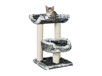 Cat Tree Isaba 62cm - Black & White