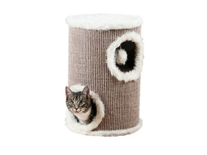 Cat Tower 50cm Brown/Beige* ^4331