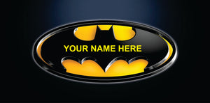Batman Yellow Custom Made Add your name for free