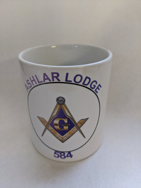 Free Mason Coffee Mug add your lodge # or Name For Free