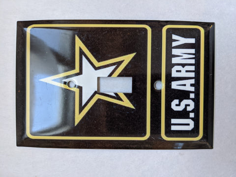 US ARMY Switch Plate Cover Single