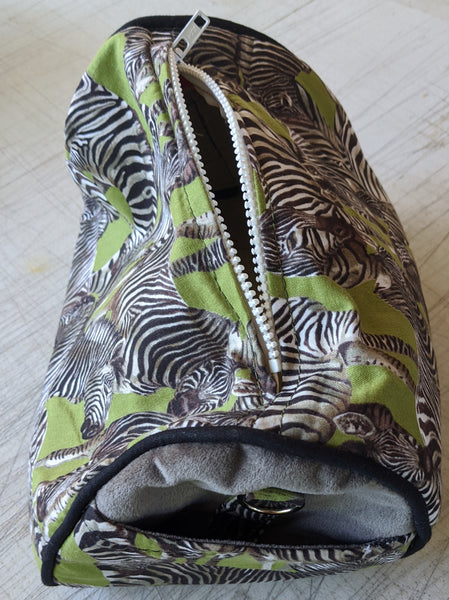 Zebra Small Duffel Bag