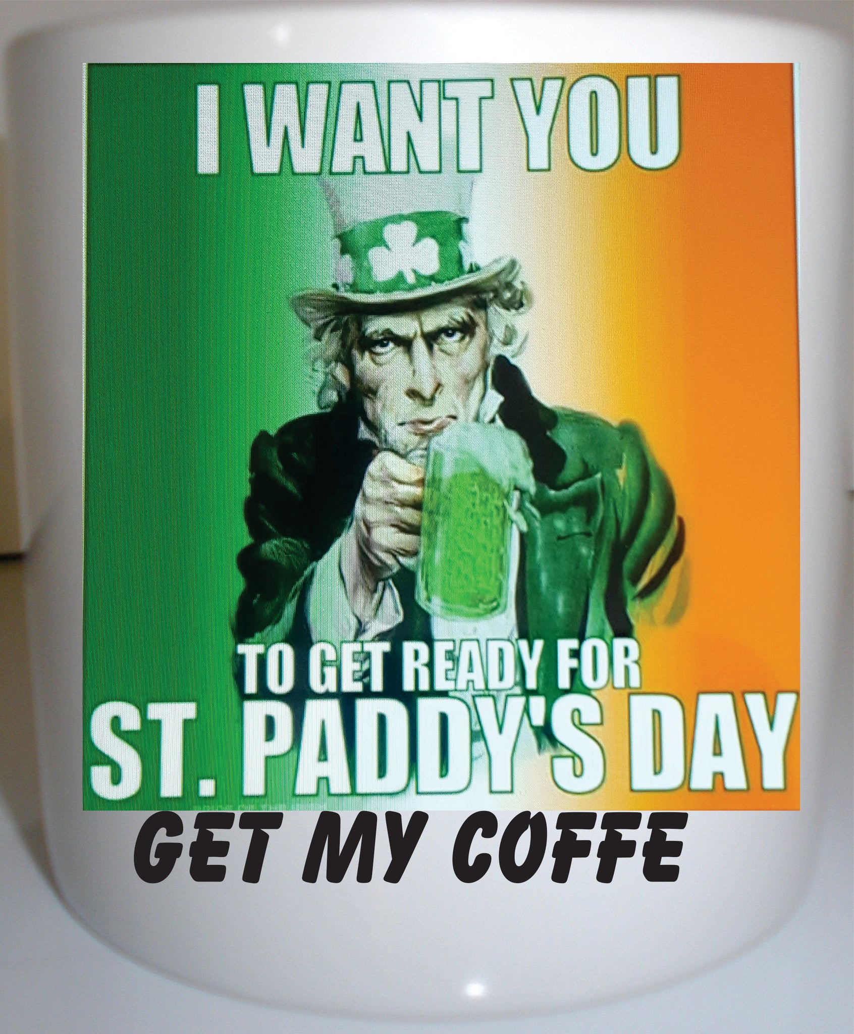 Irish Get My Coffee Coffee mug 11 oz