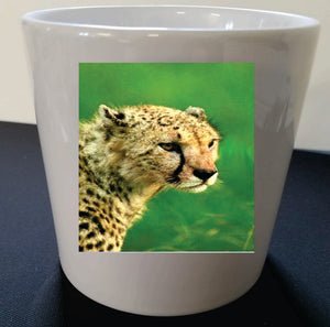 Cheetah Custom Made Coffee Mug