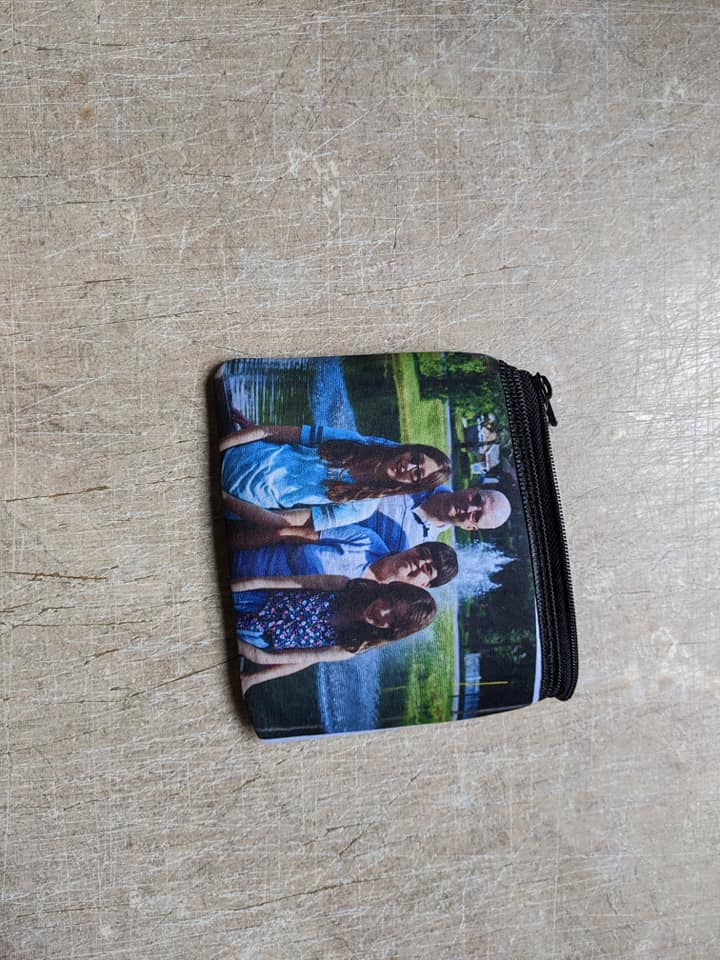 Wallet Purse Custom Made Picture