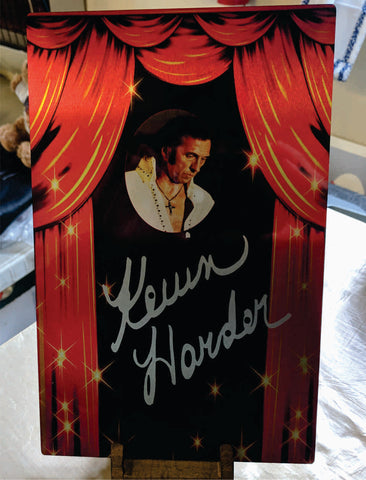 Kevin Harder Custom Made sign 8 x 10
