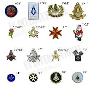 Masonic Lapel Pins Metal Badge Mason Freemason
