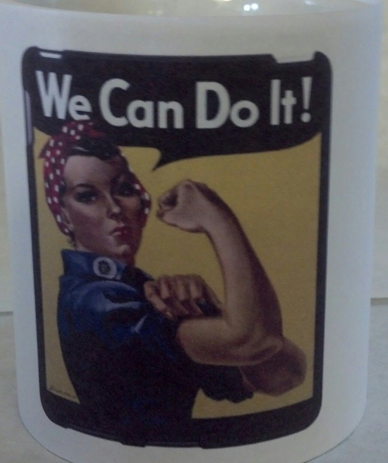 WE CAN DO IT COFFEE MUG 11 OZ.