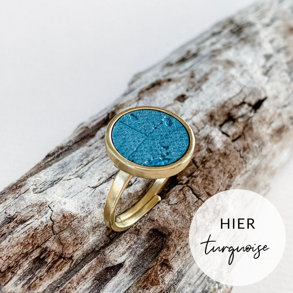 Ring RUND turquoise