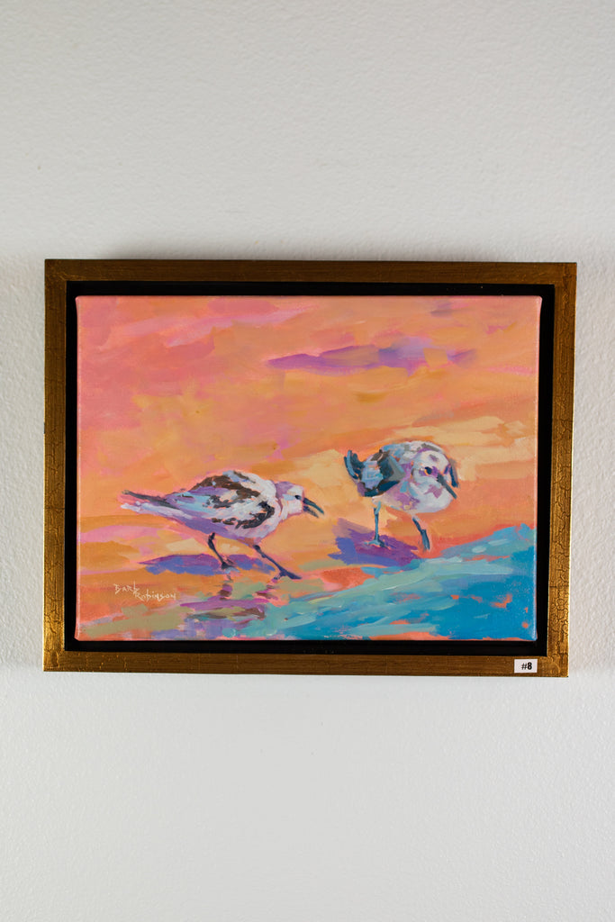 """Shore Birds"" - Acrylic"