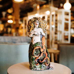 Mermaid Vase/Sculpture
