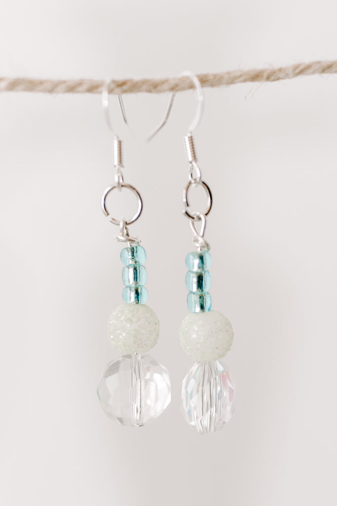 Copy of MIA Amore - Blue and White Earring
