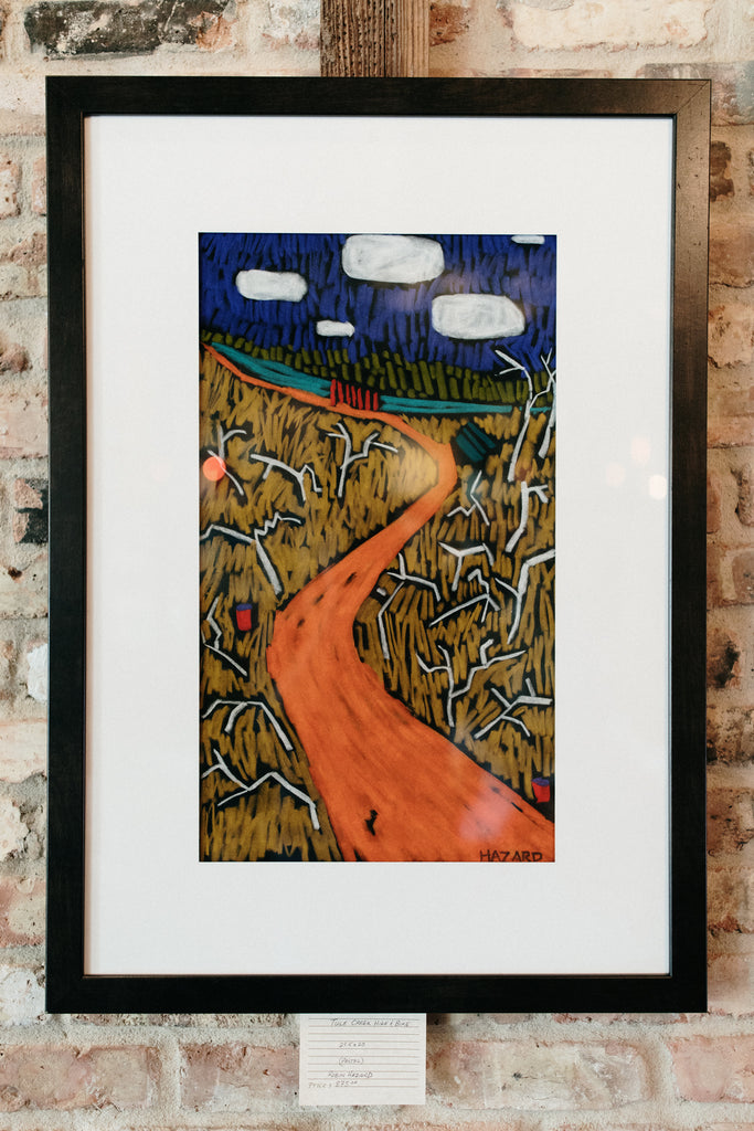 """Tule Creek Hike & Bike"" - Pastel"