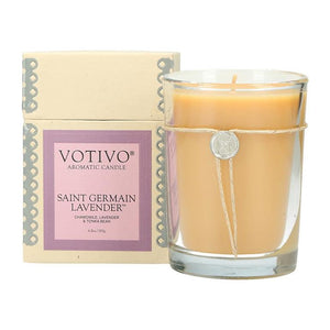 6.8 oz Aromatic Candle St Germain Lavender
