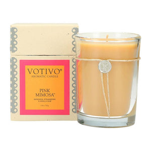 6.8 oz Aromatic Candle Pink Mimosa