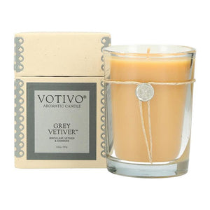 6.8 oz Aromatic Candle Grey Veiver