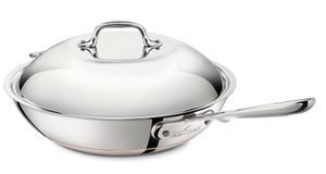 ALL-CLAD Stainless 4-Qt Weeknight Pan