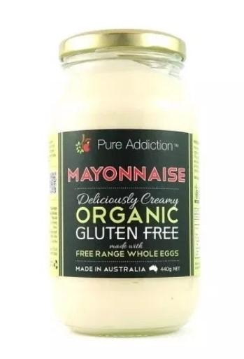 Ozganics (Pure Addiction) Organic Mayonnaise 440g