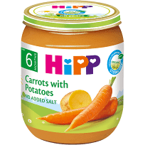 Hipp Organic Carrot With Potatoes 125g