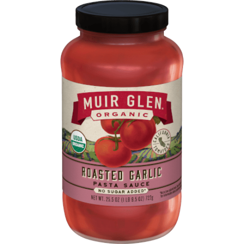Muir Glen Organic Pasta Sauce Roasted Garlic 25.5oz