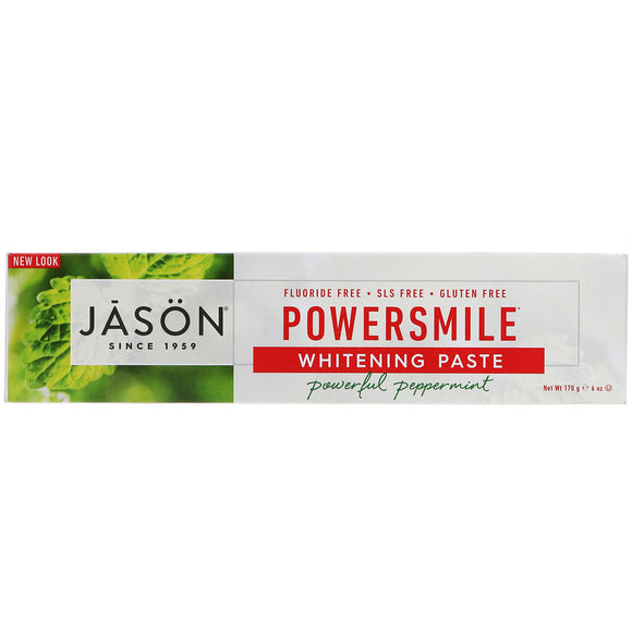 Jason Toothpaste Power Smile 6oz