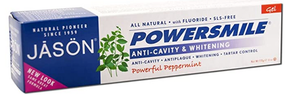 Jason Toothpaste Power Smile CoQ10 Fluoride Gel 6oz