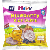 Hipp Organic Blueberry Rice Cakes 30g