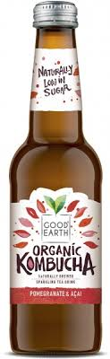 Good Earth Organic Kombucha Pomegranate Acai 330ml