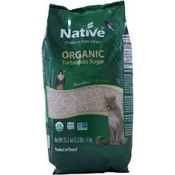 Native Organic Dark Demerara Cane Sugar 1kg