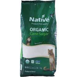 Native Organic White Crystal Cane Sugar 1kg