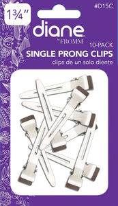 Single Prong Clips