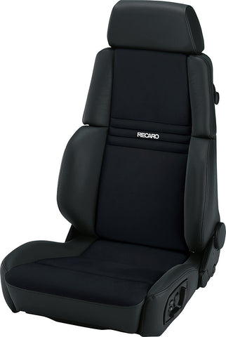 RECARO ORTHOPED Shown in Black Leather(ea)