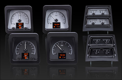 1969 CAMARO WITH CONSOLE GAUGES, HDX INSTRUMENT CLUSTER