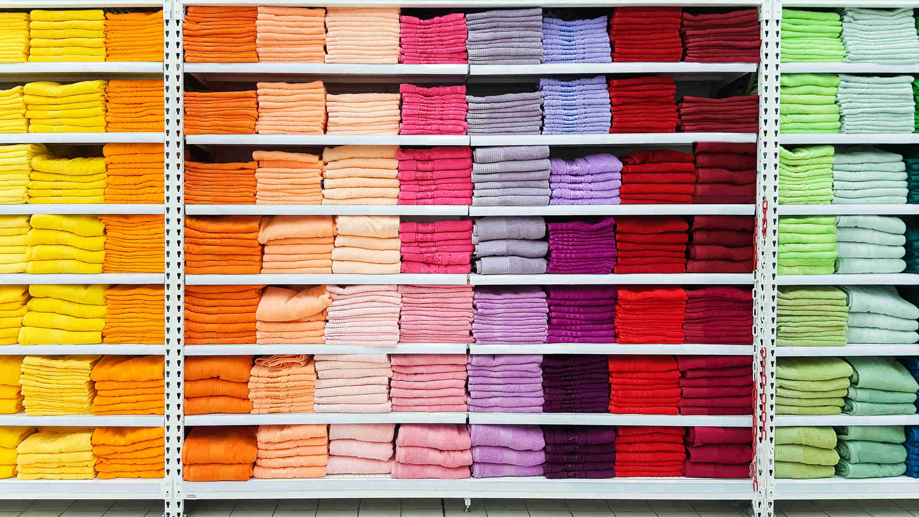 Towel Sizes: Visuals, Dimensions and Usage Areas of All Types of Towels