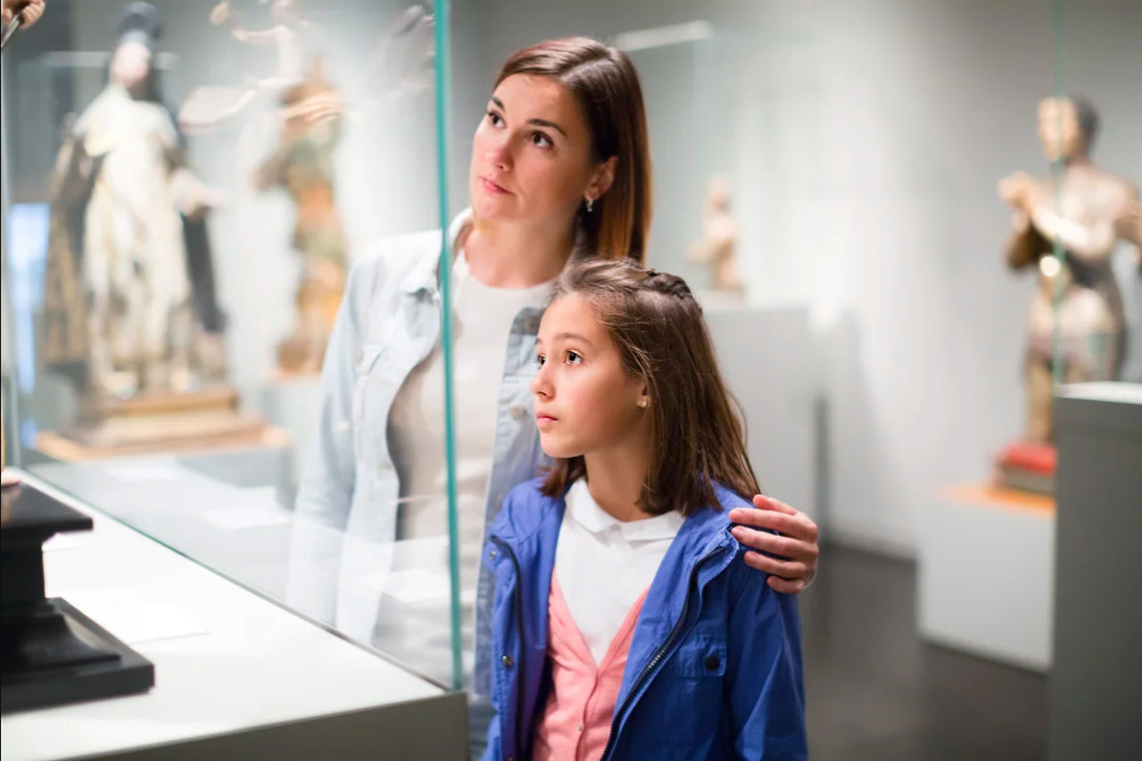 Trip to a museum as one of the Christmas gift ideas for kids who have everything