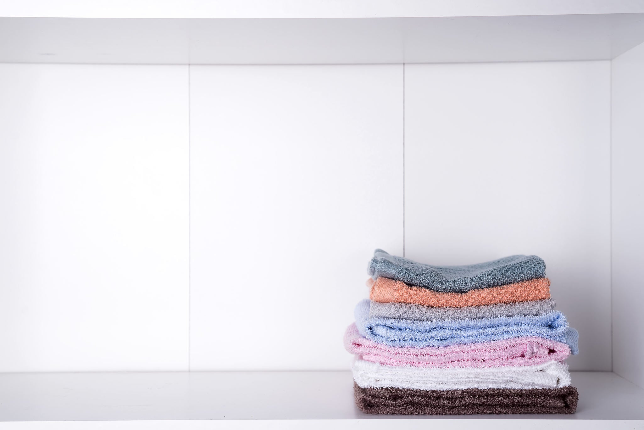 different size bath towels