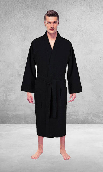 black men bathrobe