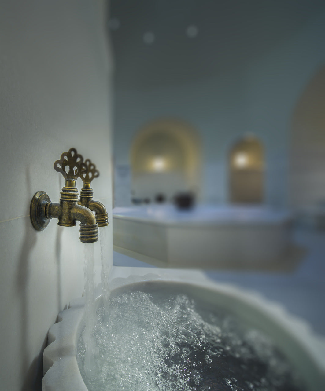 what is turkish bath, bath fountain
