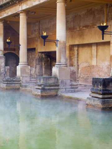 The ancient Roman hammam date backs to Roman Empire